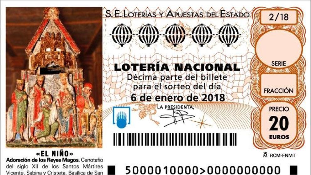 Cuánto se queda Hacienda de tu premio de Lotería